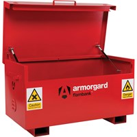 Armorgard Flambank Chemical and Flammables Secure Site Storage Box