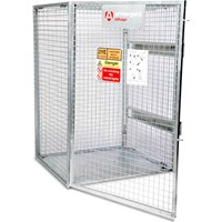Armorgard Tuffcage Collapsible Secure Gas Cylinder Storage Cage