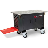 Armorgard Xtractabench Mobile Workbench and Extraction Management Unit