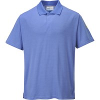 Portwest Mens Anti Static ESD Polo Shirt