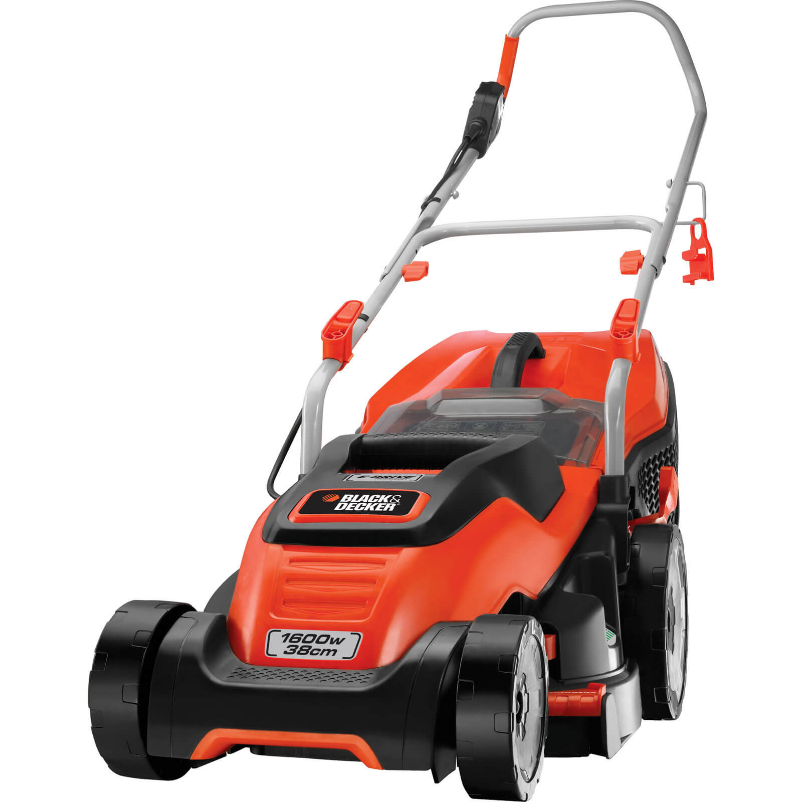 Image of Black & Decker EMAX38i Compact & Go Rotary Lawnmower 380mm 240v