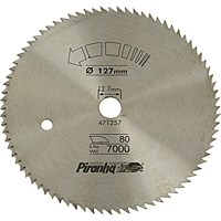 Black & Decker Piranha Steel Fine Cross Cutting Circular Saw Blade