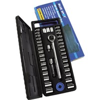 BlueSpot 40 Piece Combination Drive Hex Socket Set Metric & Imperial