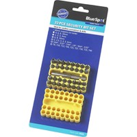 BlueSpot 33 Piece Security Bit Set