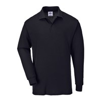 Portwest Mens Genoa Long Sleeved Polo Shirt