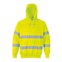 Portwest Class 3 Hi Vis Hooded Sweatshirt