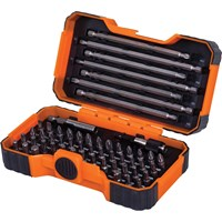 Bahco 54 Piece Screwdriver Bit Set