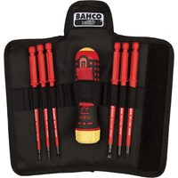Bahco 6 Piece VDE Insulated Screwdriver Set