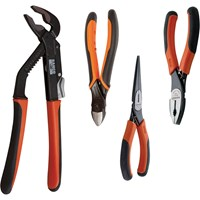 Bahco 4 Piece Ergo Handle Plier Set