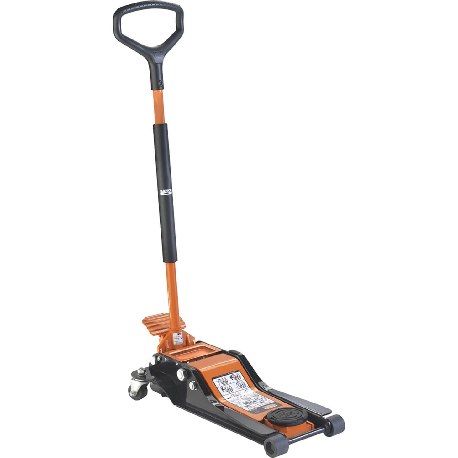 Image of Bahco Low Entry Trolley Jack 2 Tonne