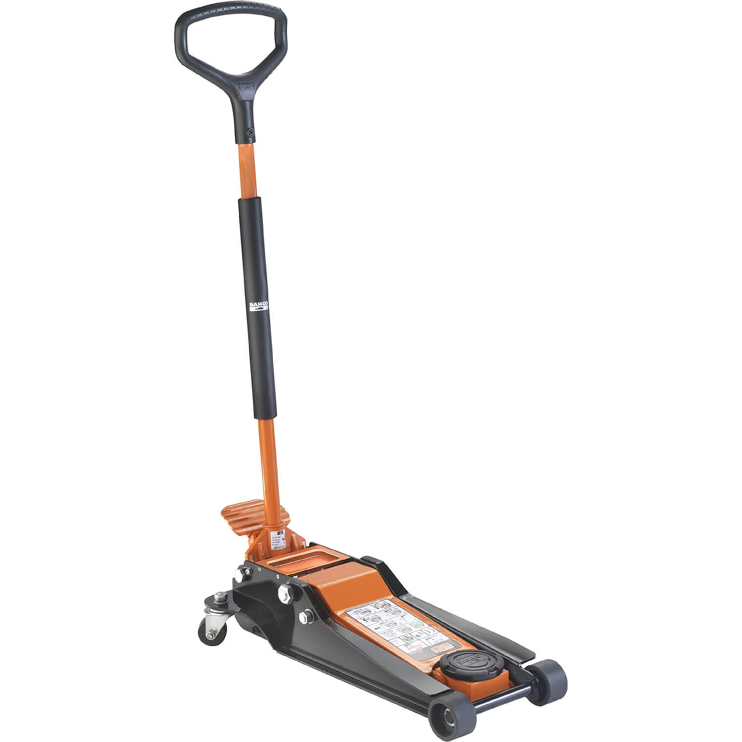 Image of Bahco Low Entry Trolley Jack 3 Tonne