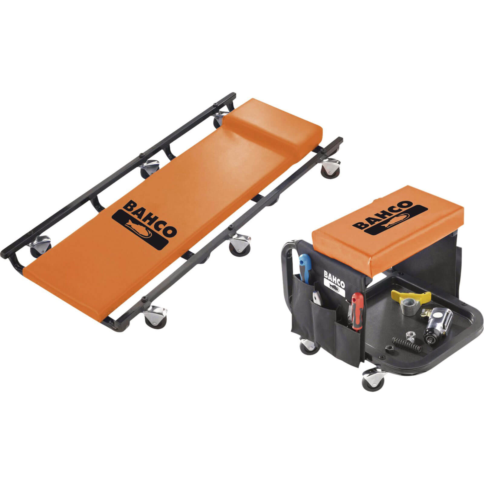 Image of Bahco BLE304 Creeper & Stool Set