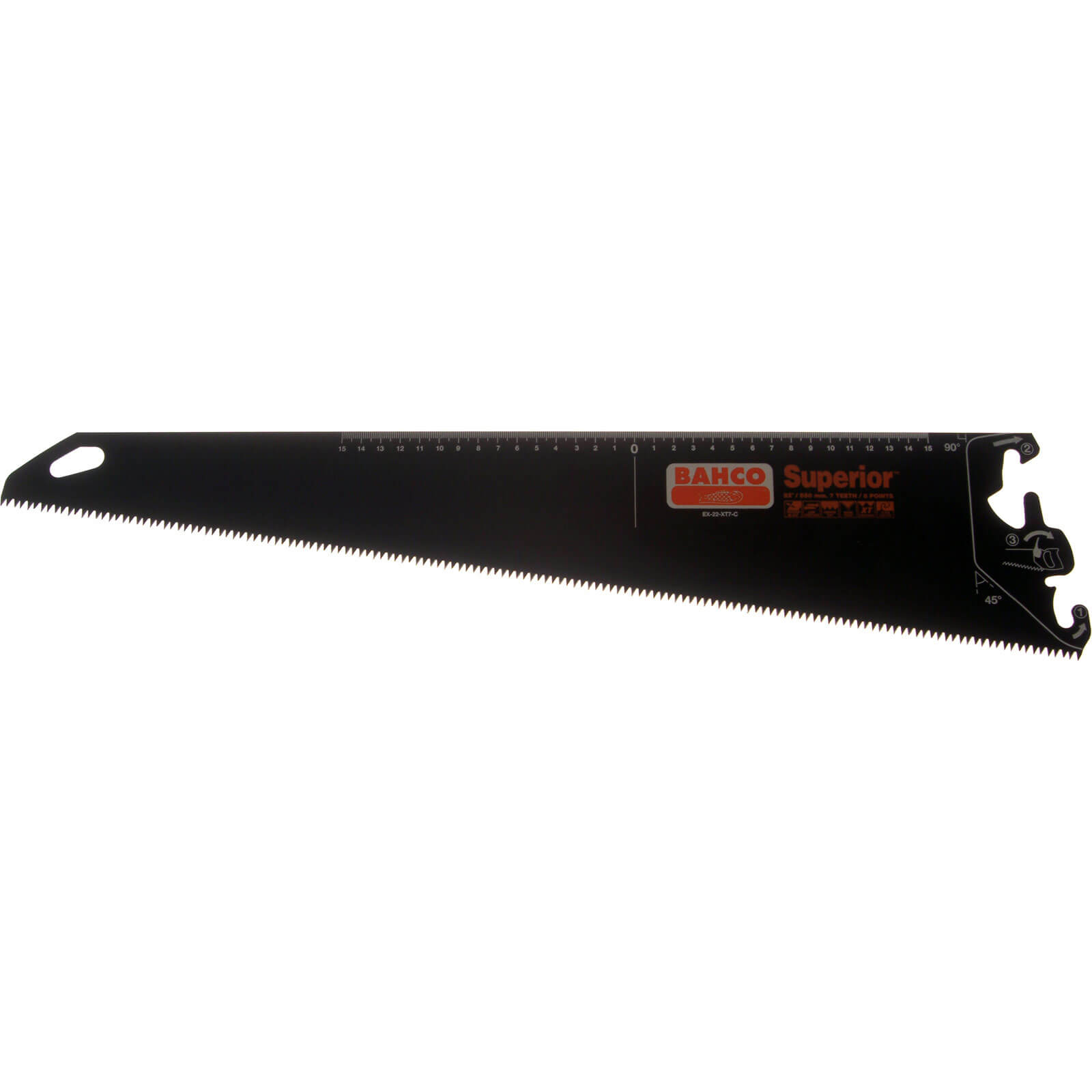 Bahco Superior Hand Saw System Coarse Saw Blade 24  600mm 7tpi