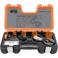 Bahco 11 Piece Professional Hole Saw Set Metric