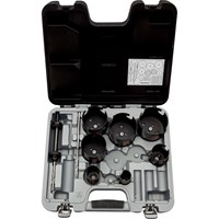 Bahco 9 Piece Multi-Construction Superior Hole saw Set