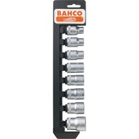 "Bahco 16 Piece 1/2"" Drive Hex Socket Set Metric"