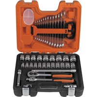 Bahco S400 40 Pieces 1/2In Drive Socket & Spanner Set