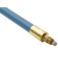 Bailey Lockfast Blue Poly Drain Cleaning Rod