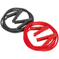 Sealey Heavy Duty Jump Leads Copper/Aluminium Cable