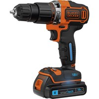 Black and Decker BDCHD18KST 18v Cordless Smart Tech Combi Drill