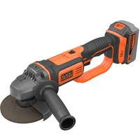 Black & Decker BCG720 18v Cordless Angle Grinder 125mm