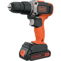 Black and Decker BCD003C2K 18v Cordless Combi Drill