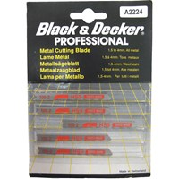Black & Decker A2224 Universal Metal Cutting Jigsaw Blades