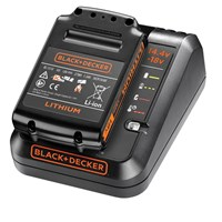 Black & Decker BDC1A15 18v Cordless Li-ion Battery Charger & Battery 1.5ah