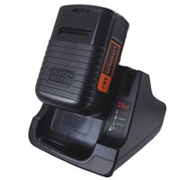 Black & Decker BDC2A36 36v Cordless Battery Charger & Battery 2ah