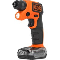 Black & Decker BDCSFS30C 3.6v Cordless Screwdriver + Accessories