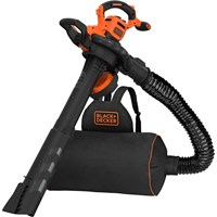 Black and Decker BEBLV300 Garden Vacuum and Leaf Blower with Back Pack Collection
