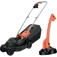 Black and Decker BEMW351GL2 Rotary Lawnmower and Grass Trimmer Kit