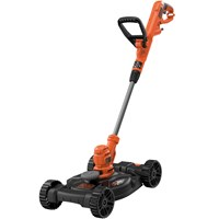Black and Decker BESTA530CM 3 in 1 Trim and Edge Grass Trimmer and Lawnmower 300mm