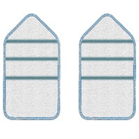 Black & Decker BHPC202A Speedy Scrub Microfibre Pads for Wet Cleaning