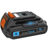 Black and Decker Genuine BL1518ST 18v Cordless Li-ion Smart Tech Battery 1.5ah