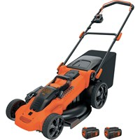 Black & Decker CLMA4820L 36v Cordless Autosense Rotary Lawnmower 480mm
