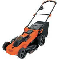Black and Decker CLMA4820L 36v Cordless Autosense Rotary Lawnmower 480mm