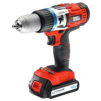 Black and Decker EGBHP1881K 18v Cordless Combi Drill