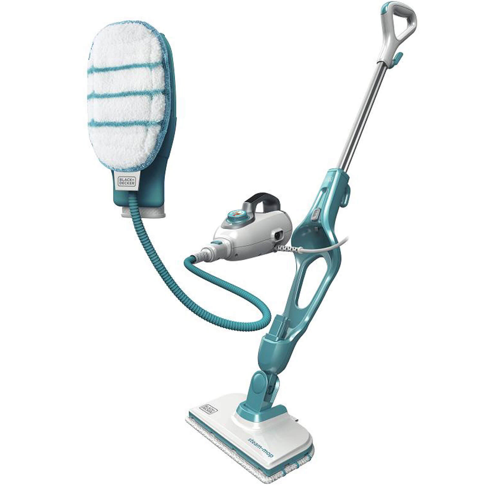 Black and Decker FSMH1351SM 9 in 1 Steam Floor Mop with SteaMitt 240v