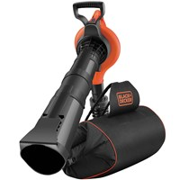 Black & Decker GW3031BP Garden Vacuum & Blower with Back Pack Collection