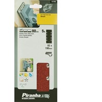 Black and Decker Piranha Quick Fit Punched 1/3 Sanding Sheets for Bosch PSS 150a 240E