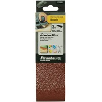 Black & Decker Piranha Sanding Belts 60mm x 400mm