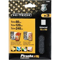 Black & Decker Piranha Hi Tech Mesh 1/4 Sanding Sheets