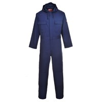 Biz Weld Mens Flame Resistant Hooded Coverall