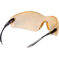 Bolle Cobra COBPSJ Anti Scratch and Anti Fog Yellow Safety Glasses