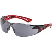 Bolle Rush+ RUSHPPSF Adjustable Bridge Smoke Safety Glasss