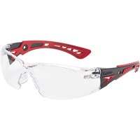 Bolle Rush+ RUSHPPSI Adjustable Bridge Clear Safety Glasss
