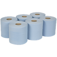 Sealey Blue 2 Ply Paper Towel Wiping Roll