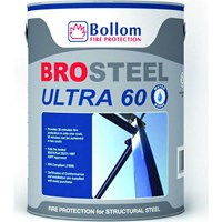 Bollom Brosteel Ultra 60 Intumescent Fire Metal Paint White