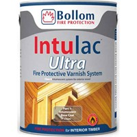 Bollom Intulac Ultra Base Coat Intumescent Fire Paint For Timber